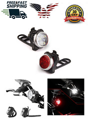 OMG Light Bike Rechargeable Led Usb Bicycle Rear Headlight Front Tail Waterproof $21.32