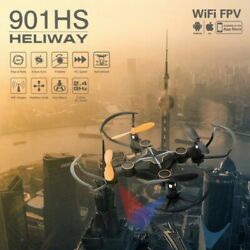 Quadcopter Drone 1080P HD With WIFI FPV Camera Altitude Hold Foldable Sets Gift $25.59