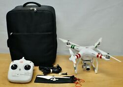 DJI Drone Phantom Standard W321 Untested Parts Repair RC Quadcopter W Remote $199.99