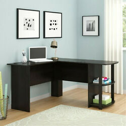 L Shaped Computer Corner Desk Laptop Gaming Table Workstation Office Home Desk $129.99