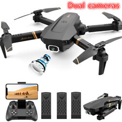 Quadcopter Drone With HD Camera Selfie WiFi FPV Foldable RC Toy Christmas gift $65.96