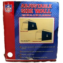 Indianapolis Colts NFL Football ADJUSTABLE SIDE WALL for Gazebos 10#x27; X 6#x27; $39.99