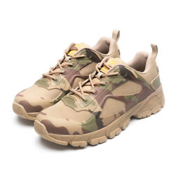 Men#x27;s Military Tactical Ankle Shoes Combat Hiking Boots Sneakers Camouflage $19.99