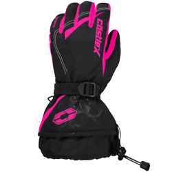 Castle X Legacy Women#x27;s Snowmobile Gloves Pink Glo $64.99