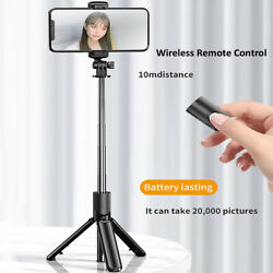 Mini Selfie Stick Bluetooth 4.0 Tripod Telescopic For SmartPhones Camera G4B2 $10.82
