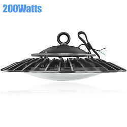 UFO 200W High Bay LED Commercial Lighting for Warehouse Garage Factory