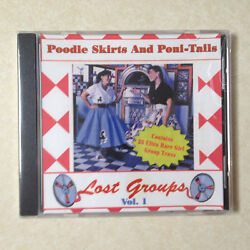 Poodle Skirts and Poni Tails Vol. 1 BRAND NEW CD $16.75