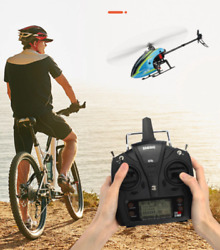 RC Helicopter RTF 6CH Dual Brushless 3D6G For adults eachine 4 batteries GIFT $299.98