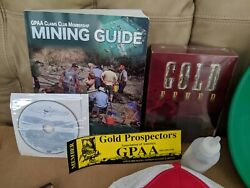 Gold Prospectors Starter Kit 14quot; pan 2010 Mining Guide DVD Everything in pics $21.99
