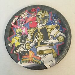 Vintage 1995 Mighty Morphin Power Rangers Paper Plate Party Express Deadstock $21.00