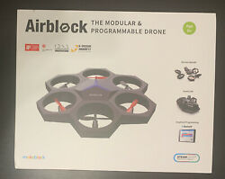 MakeBlock Airblock Modular Hexacopter Drone Hovercraft BRAND NEW STEM STEAM IOS $89.99