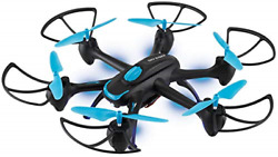 Sky Rider Night Hawk Hexacopter Drone with Wi Fi Camera and Voice Control Phone $70.98