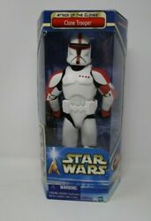 Clone Trooper RED 2002 AOTC 12quot; STAR WARS Saga Collection 1 6 Scale $34.99