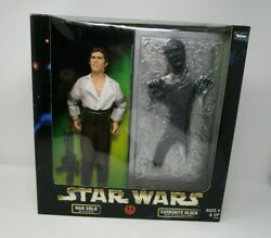 Han Solo amp; Carbonite Block 1998 12quot; STAR WARS 1 6 Scale Collector Series MIB $37.49