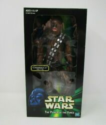 Chewbacca over 13quot; 12quot; STAR WARS 1 6 Scale Power of the Force MIB $29.99