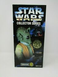 Greedo Exclusive 1997 12quot; STAR WARS 1 6 Scale Collector Series MIB $29.49