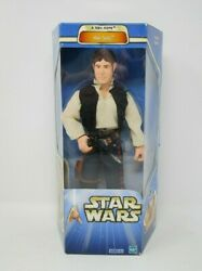 Han Solo A New Hope 2002 12quot; STAR WARS 1 6 Scale Saga Collection MIB $26.99