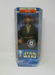 Plo Koon Jedi Council AOTC 2002 12quot; STAR WARS 1 6 Scale Saga Collection MIB $84.99