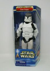 Clone Trooper AOTC 2002 12quot; STAR WARS 1 6 Scale Saga Collection MIB $29.99