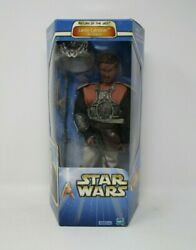 Lando Calrissian Skiff Disguise 2002 12quot; STAR WARS 1 6 Scale Saga Collection MIB $44.99
