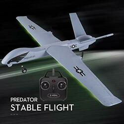 RC Plane 2.4Ghz 2 Channels RTF RC Predator Airplane RC Aircraft with 3 Axis Gy $93.91