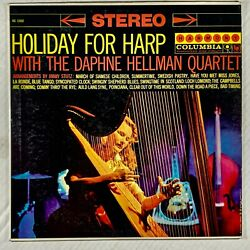 DAPHNE HELLMAN QUARTET Holiday For Harp LP 1959 HS 11002 VG $4.95