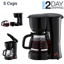 Camper Kitchen Coffee Maker Compact Coffee Machine Tiny For RV Auto Camping $22.89