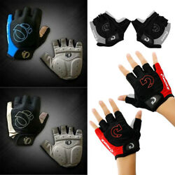 Sports Racing Cycling Motorcycle MTB Bike Bicycle Gel Half Finger Gloves M L XL $4.44