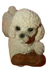 Stone Critters Littles Playful Poodle Slipper United Design Made USA SCL 104 $10.00