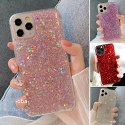 GLITTER Bling Cute Sparkle Case For iPhone 12 Pro Max11XR XS Max8 Plus Cover $7.99