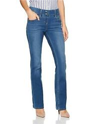 Riders by Lee Indigo Women#x27;s Pull on Waist Smoother Mid Shade Size 18.0 QTA6 $33.16
