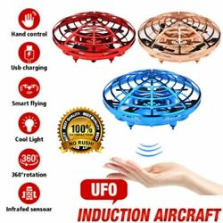 360° Mini Drone Smart UFO Aircraft for Kids Flying Toys RC Hand Control Xmas HK $14.39