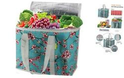 Cooler Bag Insulated Reusable Grocery Shopping Bag to Keep Foods Hot or Cold XLa $23.91