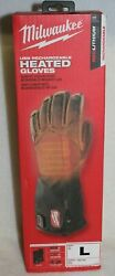 Milwaukee 561 21L REDLITHIUM USB Heated Gloves with Batteries L New $149.95