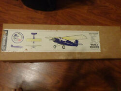 VINTAGE WORLD ENGINES ROBINHOOD 25RC BALSA MODEL AIRPLANE KIT 51quot; $125.00