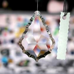 Clear Chandelier Glass Crystals Lamp Prisms Parts Hanging Drops Pendants 38mm $1.38