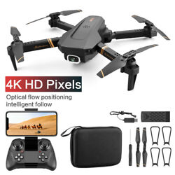 Quadcopter Drone With 4K 1080P HD Camera Selfie WiFi FPV Foldable RC Batteries $66.54