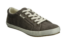 Taos Star Women#x27;s Chocolate Washed Canvas Size 6.5 NO BOX $43.00