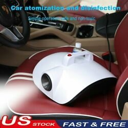 Fog Machine Atomization Car Disinfection Fogger Sterilization Purifier Indoor US $58.99