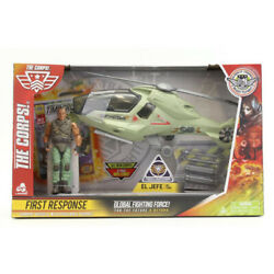 The Corps First Response Helicopter with Action Figure amp; Weapons NEW Free Ship $27.99