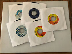 45 rpm vinyl records singles No Skips Beatles The Who Various You Pick Jukebox $3.25