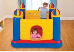 Intex Inflatable Colorful Jump O Lene Kids Ball Pit Castle Bouncer for Ages 3 6 $61.12