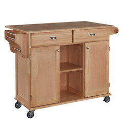 Napa Natural Kitchen Cart With Storage $401.99