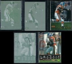 1995 Classic Images Limited Terrell Davis RC with 3 Print Plates 1 1 $175.00