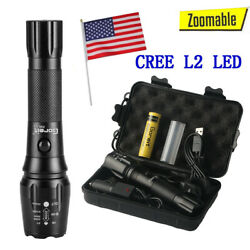 2021 80000lm Genuine Shadowhawk Tactical Flashlight LED Military Torch LAMP $18.98