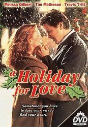 A Holiday for Love DVD MELISSA GILBERT $2.50
