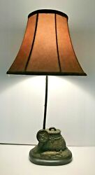 Fly Rod Trout Fish Table Lamp Fishing Rustic Cabin Lake Lodge Decor $39.00