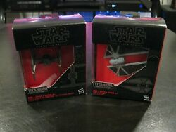 Hasbro Star Wars Black Series Titanium Series First Order Tie Fighter amp; Sriker $15.00