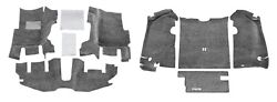 BedRug Floor and Cargo Liners for 97 06 Jeep Wrangler TJ with Console CBRTJ97 $390.00