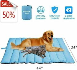 Outdoor Large Pet Bed Portable Pet Mat for Large Dogs Water Resistant New $23.73